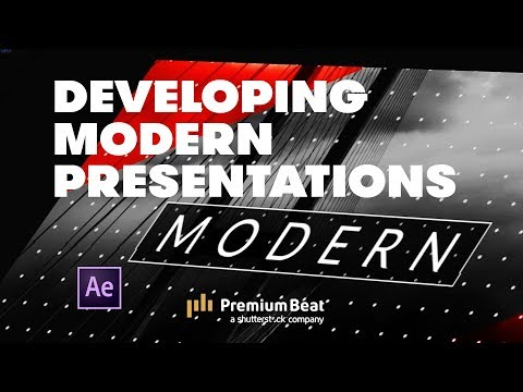 How to Create a Modern Presentation in After Effects   PremiumBeat.com