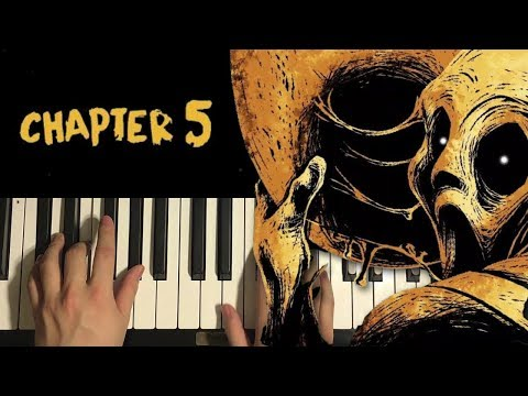 HOW TO PLAY - Bendy Chapter 5 - Credits Music (Piano Tutorial Lesson)
