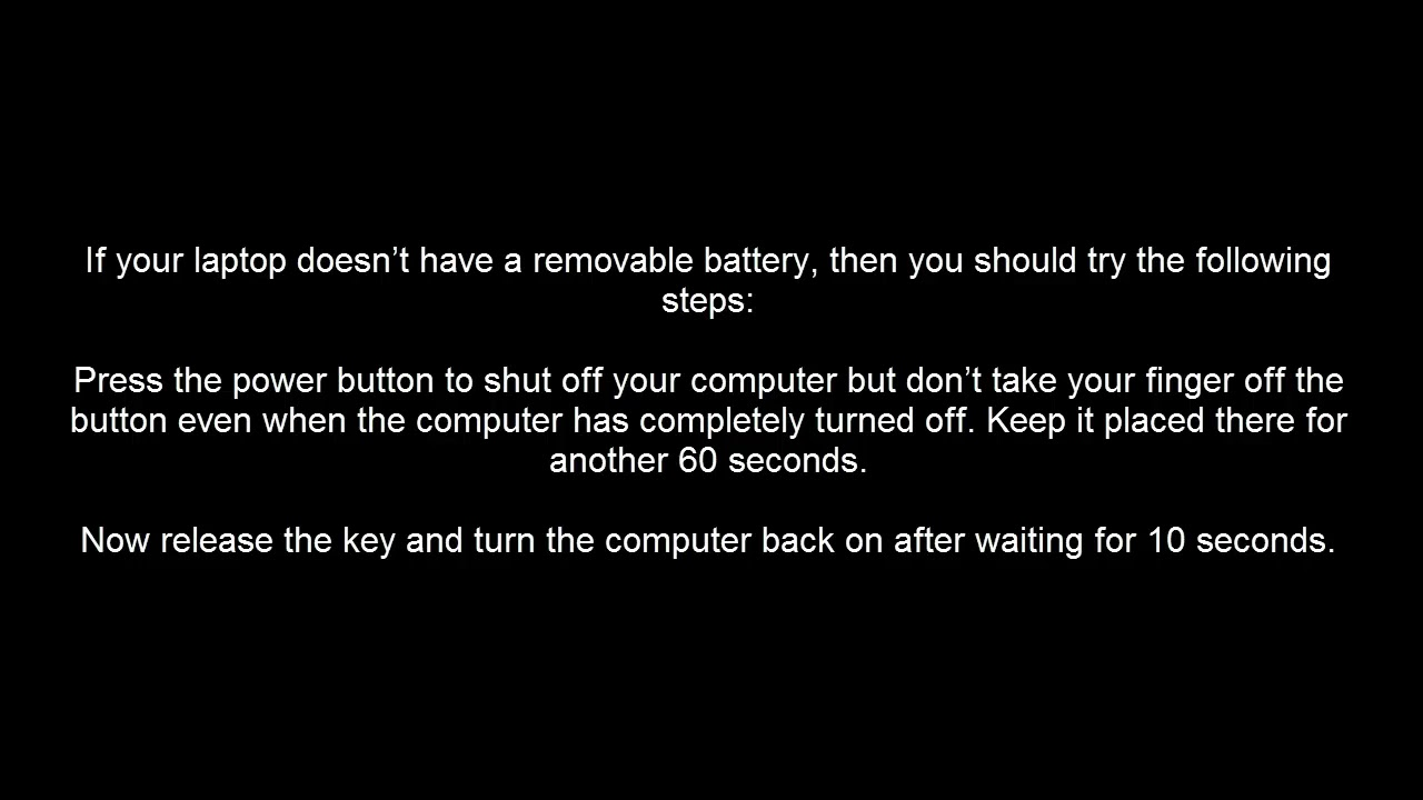 How to Fix a Black Screen on a Toshiba Laptop - YouTube
