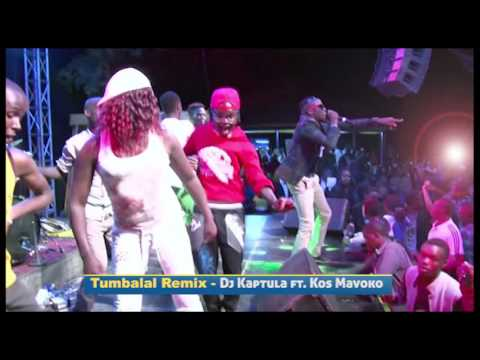 Dj Kaptula & Kos Mavoko performing Tumbalal Remix (Video)