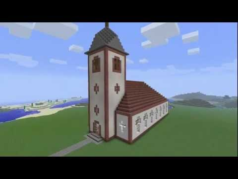 minecraft kirche youtube. Black Bedroom Furniture Sets. Home Design Ideas