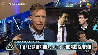 """Alejandro Fantino sobre """"River 2 - 0 Boca, en la Supercopa Argentina"""" - 14/03/18"""