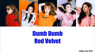 [日本語訳]'Dumb Dumb' Red Velvet Lyrics