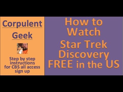 How To Watch Star Trek Discovery For Free - CBS All Access Free Trial