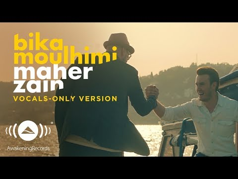 Maher Zain & Mustafa Ceceli - Bika Moulhimi | (Vocals Only - بدون موسيقى) | Official Music Video
