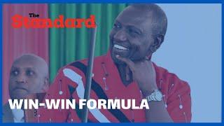 DP Ruto urges the senate to develop a win win formula for revenue sharing
