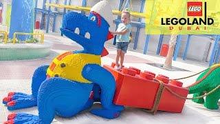 Леголенд Парк Развлечений для детей Legoland fun amusement theme park for kids and for children