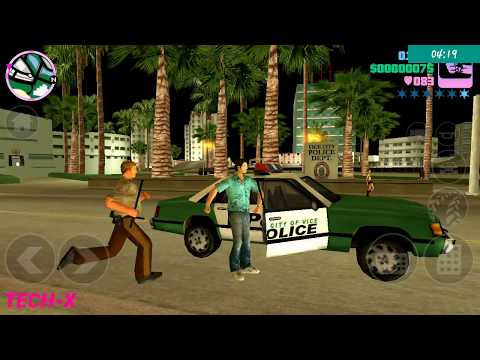 Gta vice city fight with police y city game 2018