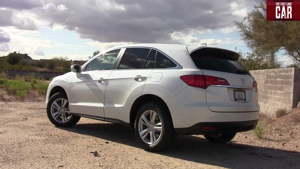 2013 Acura RDX 0-60 MPH Inside and Out - YouTube