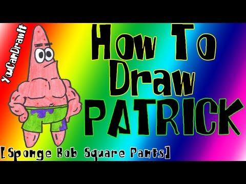 how-to-draw-patrick-star-from-sponge-bob-square-pants-✎-youcandrawit-ツ-1080p-hd