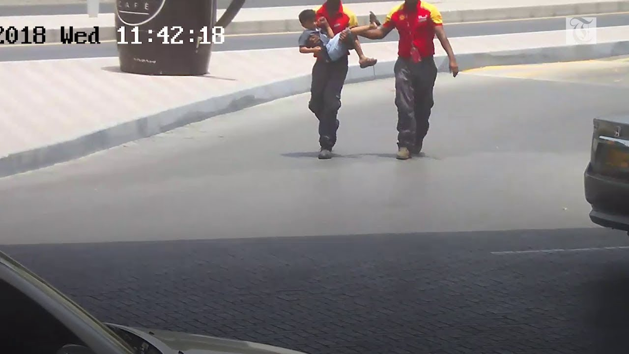 Hero fuel station attendant in Oman saves five-year-old's life
