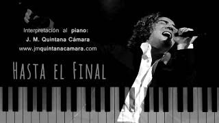 Hasta el Final - David Bisbal (Piano | Sheet Music | Partituras)