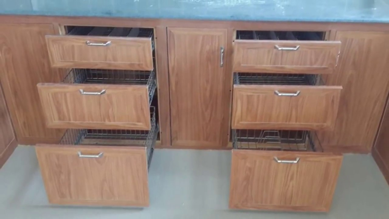 Pvc Kitchen Furniture Designs Pvc Modular Kitchen Icon Interiors Coimbatore 8807992054