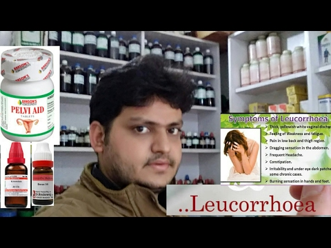 homeopathic medicine for leucorrhoea or leukorrhea!explain??