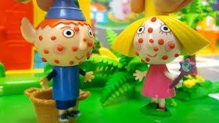 Ben e Holly Italiano storie con giocattoli -Ben e Holly fanno una scorpacciata di bacche velenose