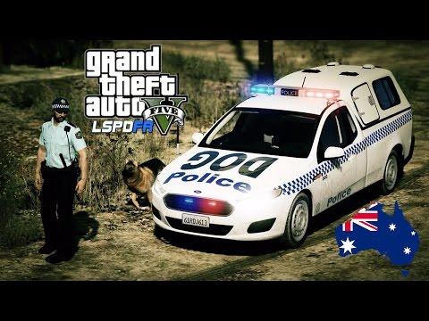 GTA 5 - NSW Police Mod - Dog Squad Patrol Take 2 (Play GTA V as a cop mod for PC) #OZGTA