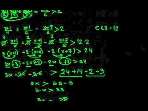 μαθηματικά β γυμνασίου ανισώσεις (μερος 2ο)