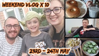Weekend Vlog No 10  23rd-24th May  Stay at Home