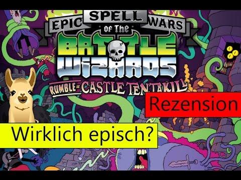 Epic Spell Wars of the Battlewizards: Rumble at Castle Tentakill (Kartenspiel) / SpieLama