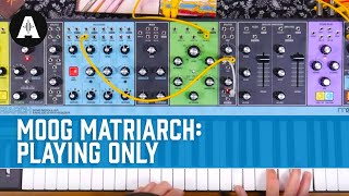 Moog Matriarch Analog Synth - Playing Only!