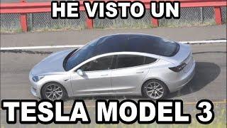 He visto un TESLA MODEL 3