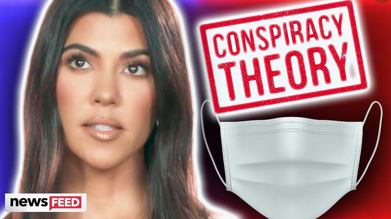 Kourtney Kardashian Sparks Anti-Mask CONSPIRACY Theory!