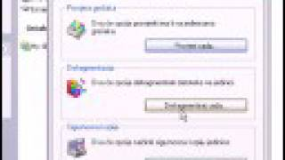 Speed up Windows XP (Disk defragmenter & error check)