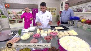 Gülenay ile Pasta Börek   Zümra Pizza Tarifi