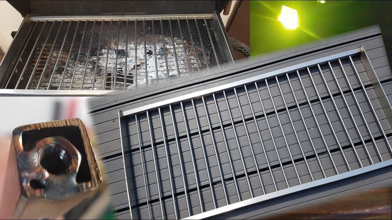 grillrost aus edelstahl selber bauen - zerlegbar - youtube
