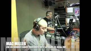 Mac Miller's first time on the radio! Freestyle On Shade 45's Showoff Radio with Statik Selektah