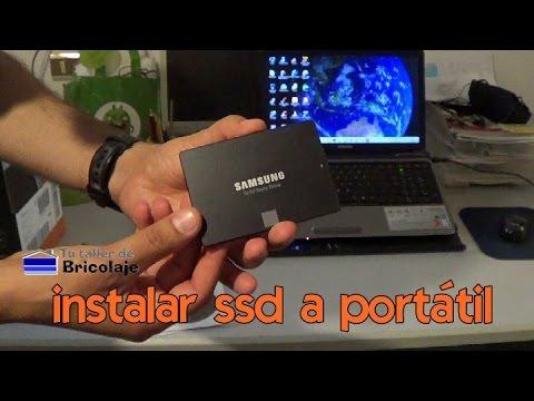 Cómo INSTALAR un SSD en un PORTÁTIL o LAPTOP 😍❤