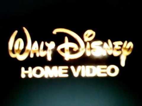 1992 Walt Disney Home Video Slow Motion On Normal Speed