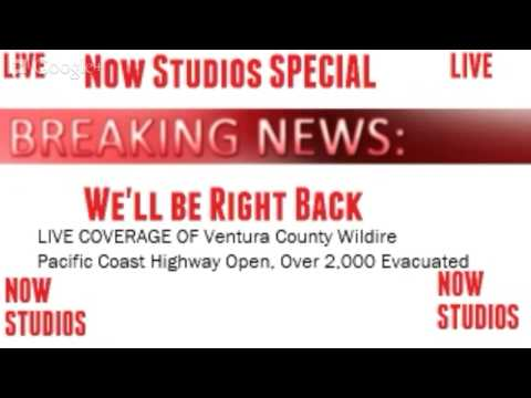 LIVE: Ventura, California Wildfire