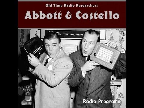 Abbott and Costello - Hanley Stafford Subs for Bud Abbott