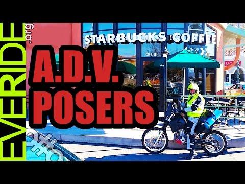 ADV Riders are POSERS! (Satire) o#o