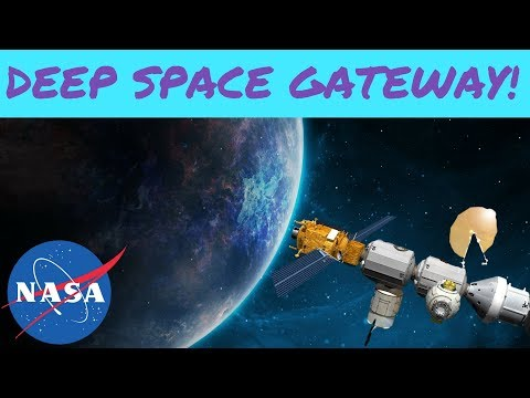 NASA's Deep Space Gateway, the Spaceport to Mars!