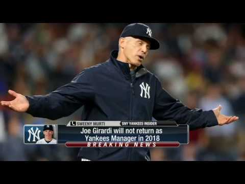 Joe Girardi Is Out As New York Yankees Manager