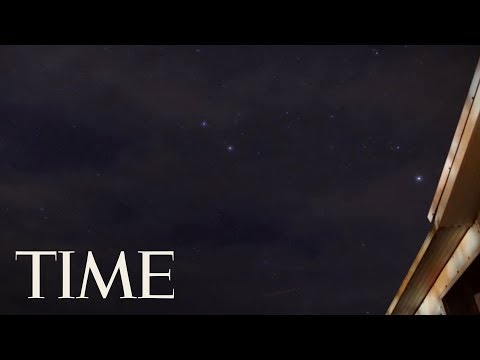 Time-Lapse Of Geminid Meteor Shower Seen From Florida: Watch The Sky Light Up | TIME