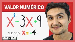 Valor Numérico de una Expresión Algebraica | Ejercicios