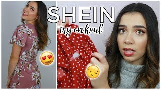 SHEIN TRY ON FALL CLOTHING HAUL!