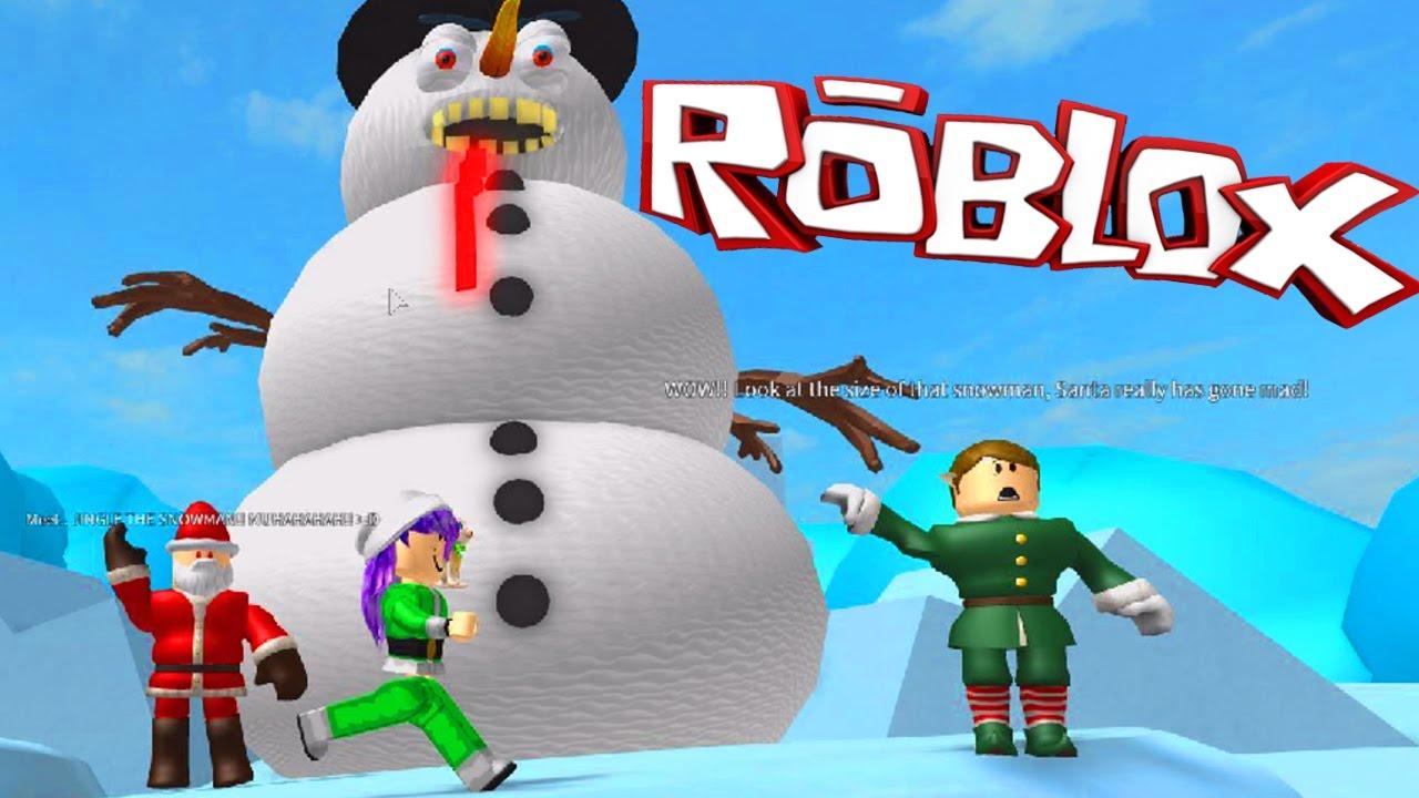 escape santa obby roblox games