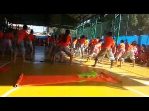 Kin Yang Academy 16th Founding Anniversary ORANGE DRAGON Feb 12,2015 Cheer Dance Compitition