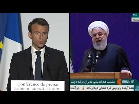 Rouhani and Macron in talks to save the Iran Nuclear Deal