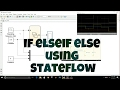 Simulink Tutorial - 19 - If Else if Else Using State flow | Using Chart |