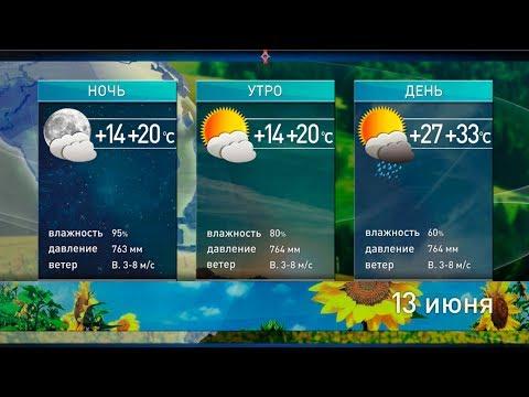 Снова +33°C, а дальше ещё жарче: прогноз погоды на 13 июня