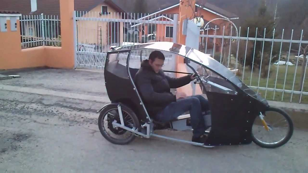 Street Legal Two Seater Electric Velomobile Youtube