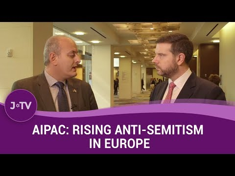 AIPAC: Rising Anti-Semitism in Belgium and France - Joel Rubinfeld | Current Affairs | J-TV