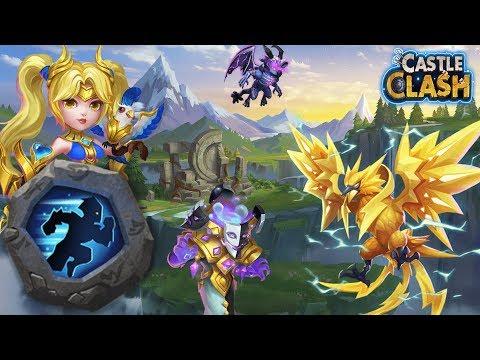 Das Talent List Auf Verschiedenen Helden Testen... | Castle Clash | Schloss Konflikt