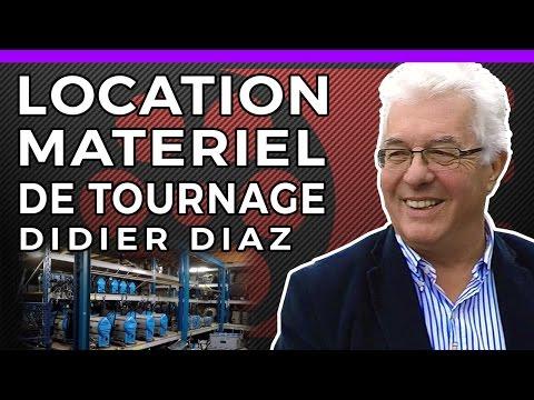 LOCATION MATERIEL DE TOURNAGE - Didier Diaz