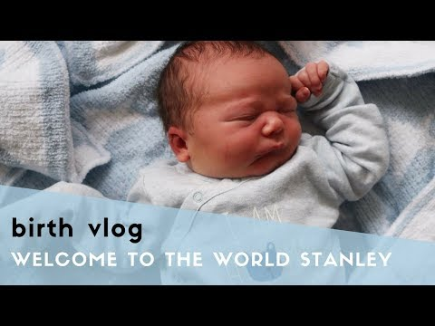EMOTIONAL BIRTH VLOG - NATURAL HOSPITAL HYPNOBIRTH - WELCOME TO THE WORLD STANLEY